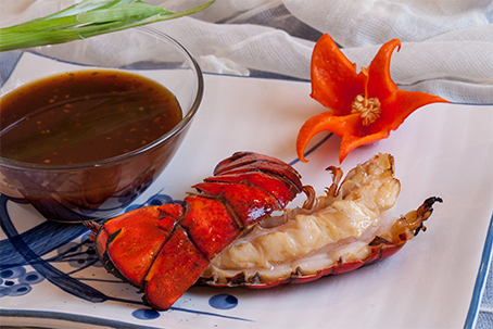 Korean Style Grilled Lobster Tails Recipe | Fresh Maine Lobster Recipe