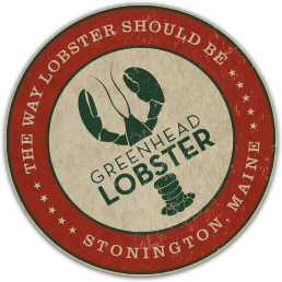 Greenhead Lobster in Stonington, Maine Logo